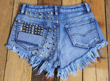 Rock-On Stud ShortsShortsLuna Daze