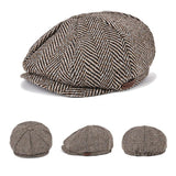 Striped Peaky Blinder Hat