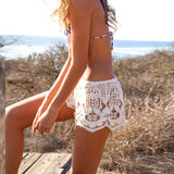 Boho Lace Shorts - Luna Daze