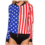 Flag Me Down Zipper JacketLuna Daze