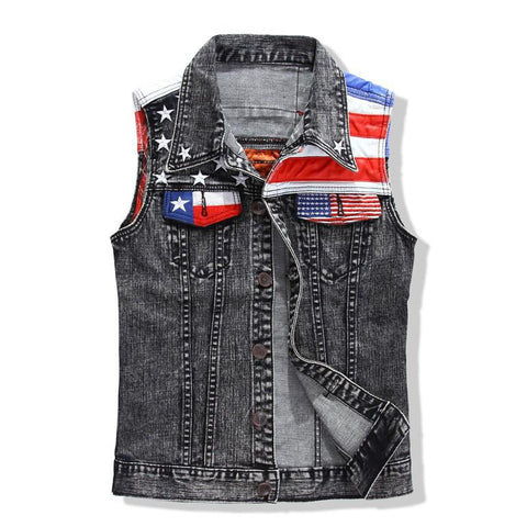 Bad To The Bone Vest - Luna Daze
