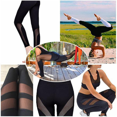 High Performance Mesh Leggings