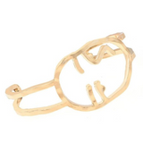 Expressionist Bangle, Luna Daze