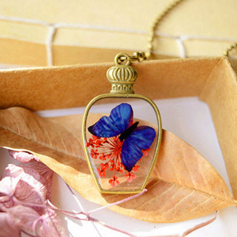Good Omen Butterfly Necklace
