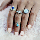 Moonstone Ring SetJewelryLuna Daze