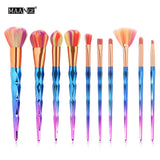 Unicorn Horn Makeup Brush KitAccessoriesLuna Daze