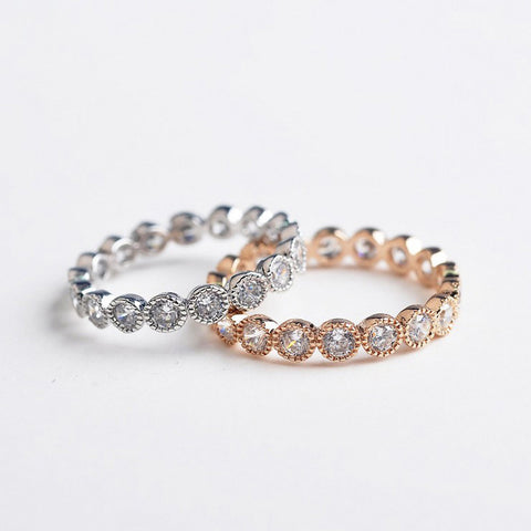 Chic Essential Crystal Ring
