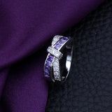 Amethyst Bound Ring, Luna Daze