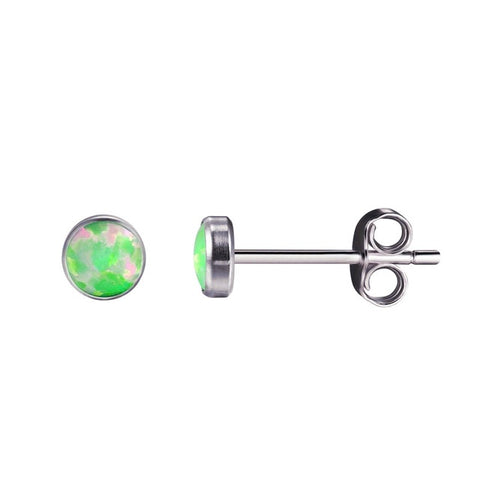 natural fire silver stud classic il by jewelry studs shop earrings opal kissed white