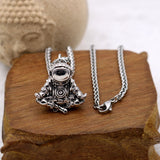 Zen Astronaut Necklace