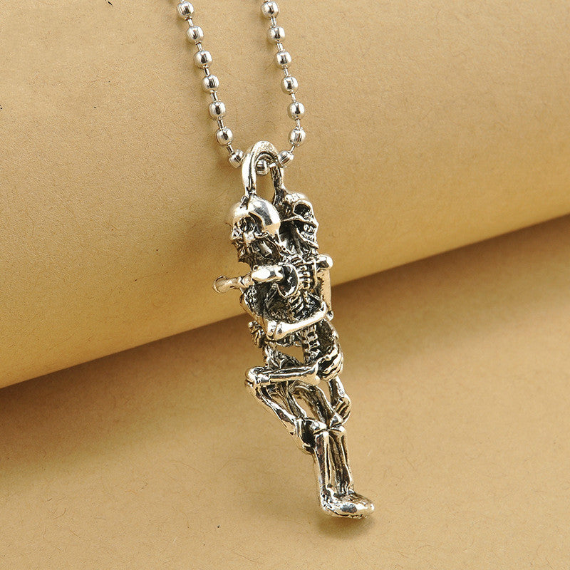 Skeleton Lovers Necklace