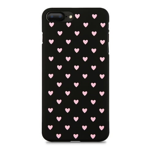 Polka Hearts iPhone Case (All Sizes)