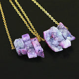 Raw Amethyst NecklaceJewelryLuna Daze