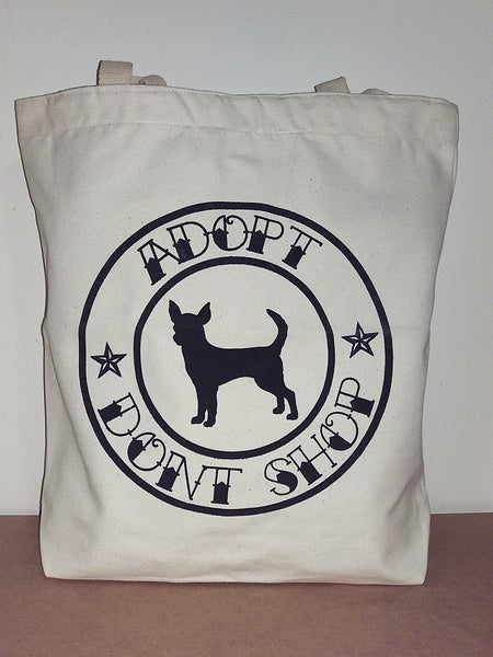 BCCR Adopt Don't Shop Tote Bag