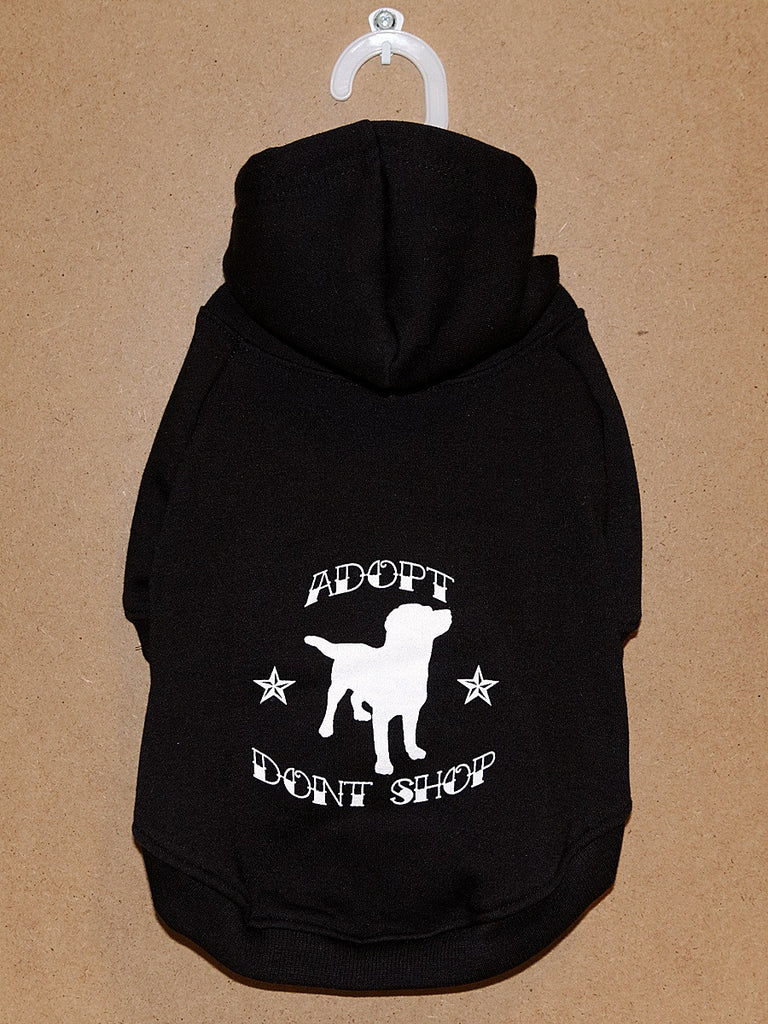 Adopt Don't Shop Classic Hoodie
