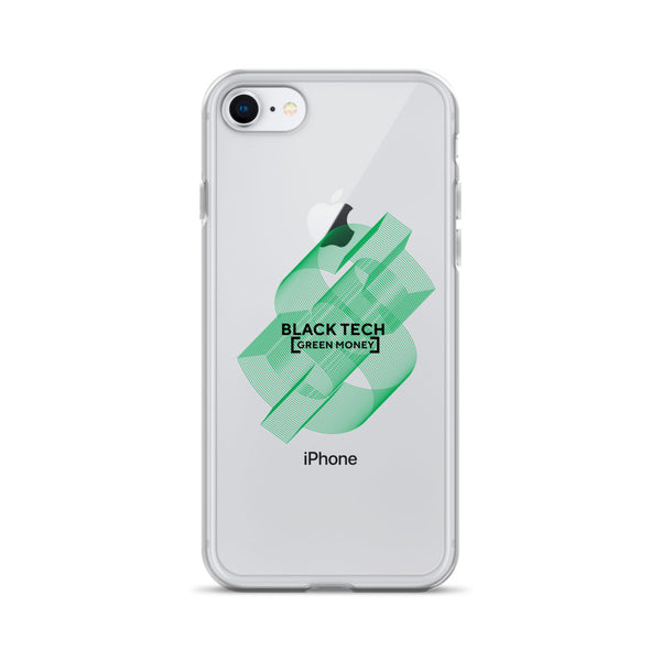 Black Tech Green Money iPhone Case