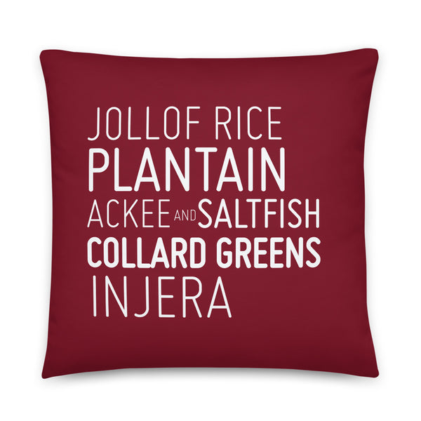 Jollof & Friends Pillow