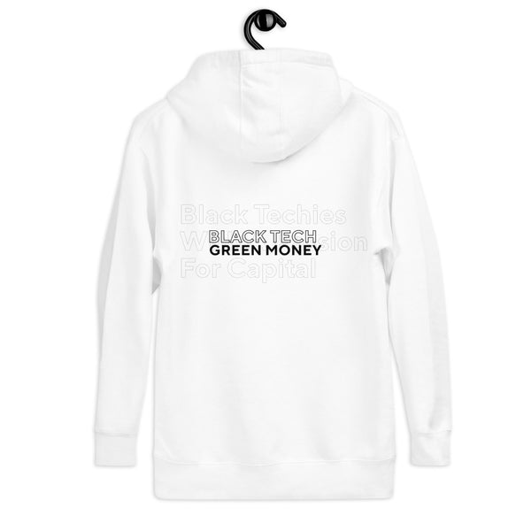 Black Tech Green Money Hoodie Sweatshirt