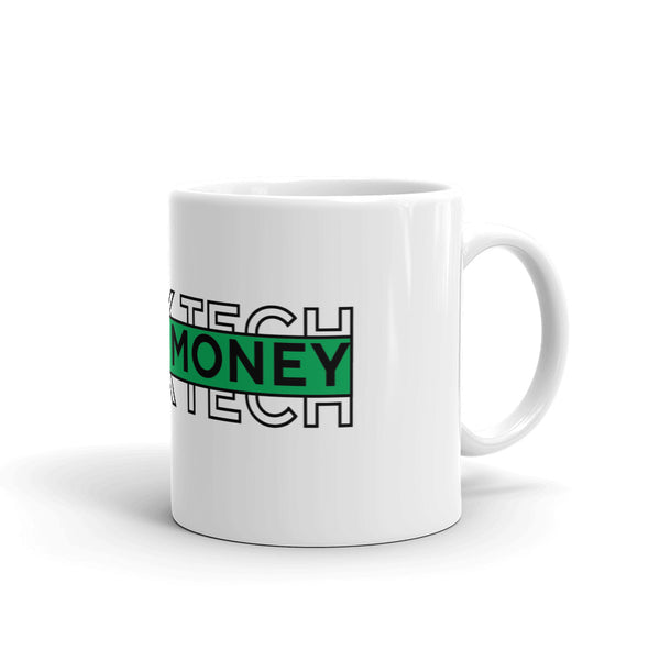 Black Tech Green Money Mug