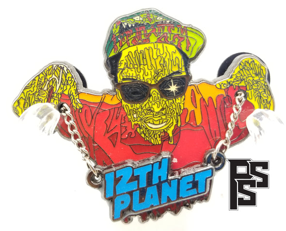 12th Planet Pin (Red)
