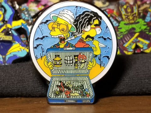 Fear and Simpsons Pin