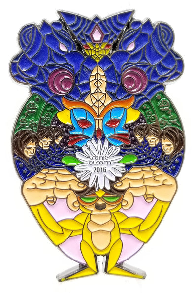 Sonic Bloom 2016 Pin