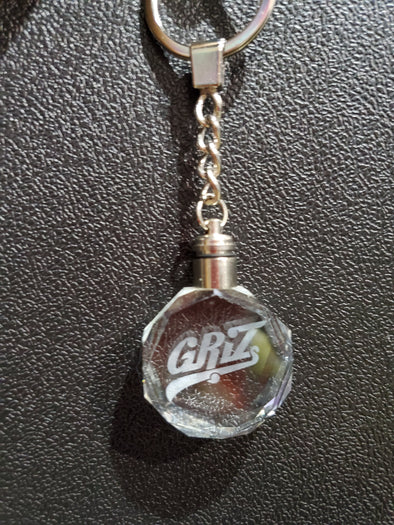 Griz Light Up Keychain