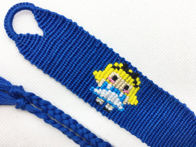 Alice in Wonderland Friendship Bracelet (Custom Hand Made)