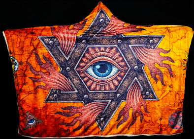 All Seeing Eye Hooded Blanket
