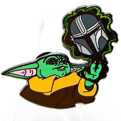 Baby Yoda: This Is The Way Lapel Pin