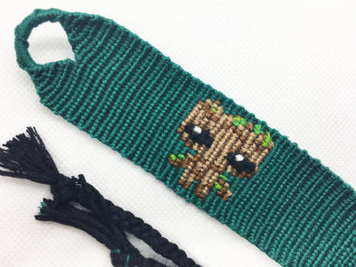 """The Guardians of the Galaxy"" Baby Groot Friendship Bracelet (Custom Hand Made)"