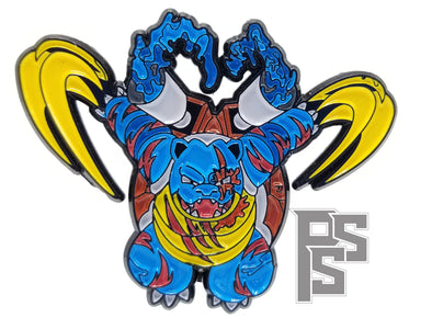 Battle Blastoise Pin