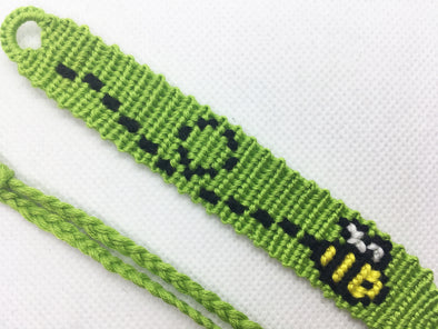Bee Friendship Bracelet (Custom Hand Made)