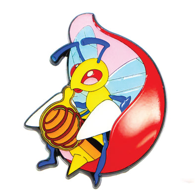 Beedrill Nectar Collector Lapel Pin