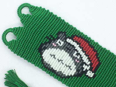 """My Neighbour Totoro"" Christmas Friendship Bracelet (Custom Hand Made)"