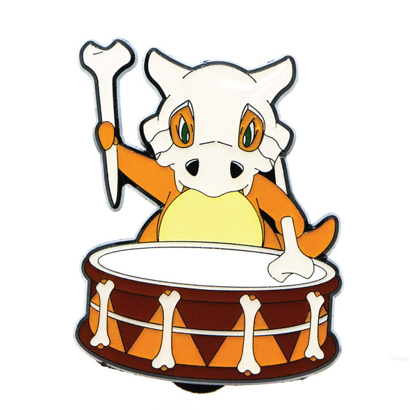 Cubone Drum Solo Lapel Pin