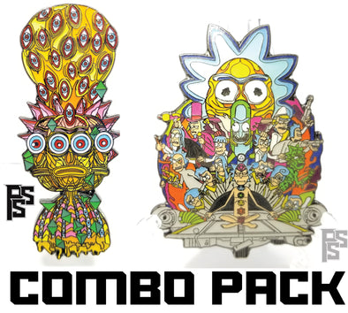 Interdimensional Rick and DMT Rick Combo Pack