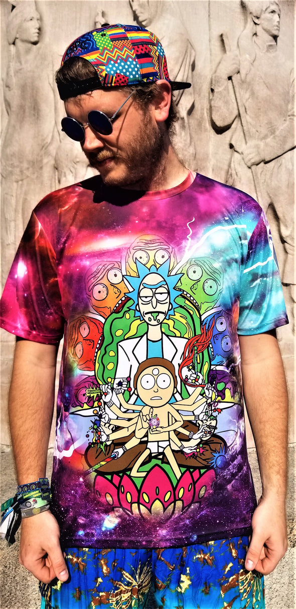 Rick and Morty Flow Wars T-Shirt