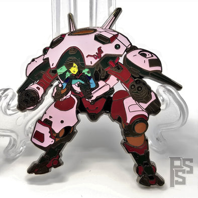 Overwatch D.Va Pin