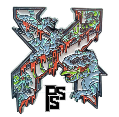 Excision: Dino Gore Lapel Pin