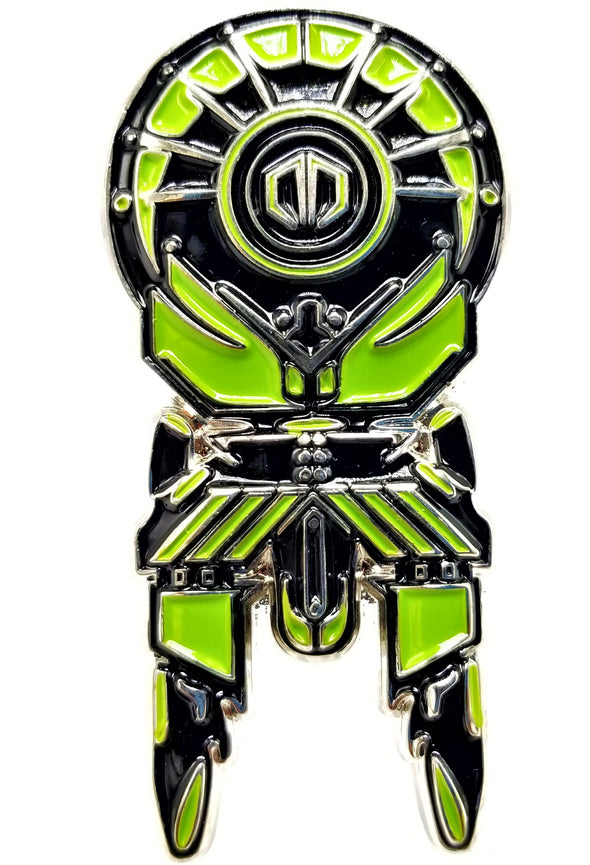 Excision Destroid Pin (Green)