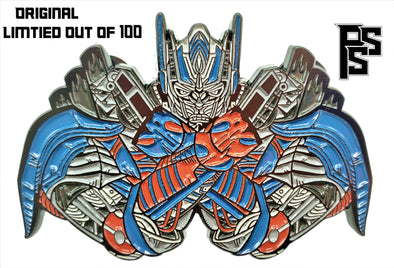 Excision: Throw Your X Up Lapel Pin