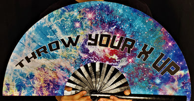 Excision: Throw Your X-Up Hand-Fan