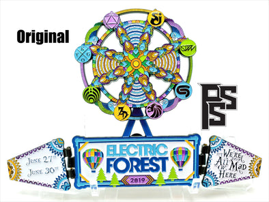 Electric Forest 2019 Lapel Pin/Desk Ornament