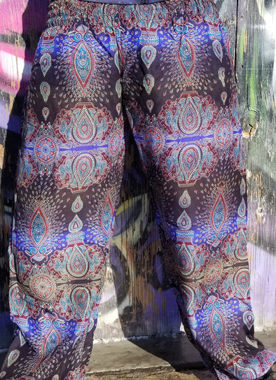 Fractal Enlightenment Festival Pants