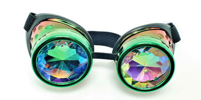Fresh Forest Kaleidoscope Goggles