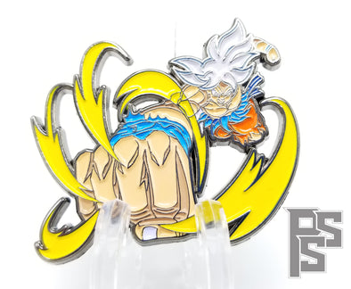 Goku Ultra Instinct Pin