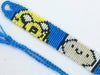 """Adventure Time"" Jake and Finn Friendship Bracelet (Custom Hand Made)"