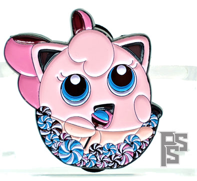 JigglyPuff Candy Kid Lapel Pin