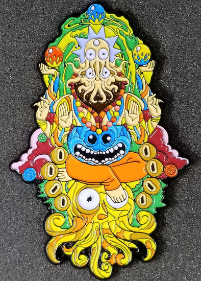 Rick and Morty Ganesha Pin